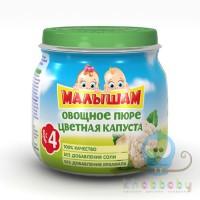МАЛЫШАМ овощное пюре цветная капуста 75 гр